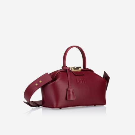 GRIE bags. Designer doctor bags. Noble Burgundi