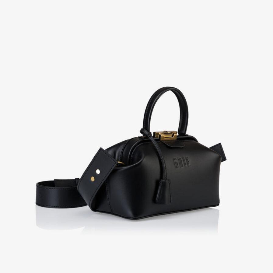 GRIE bags. Designer doctor bags. Baguette Black