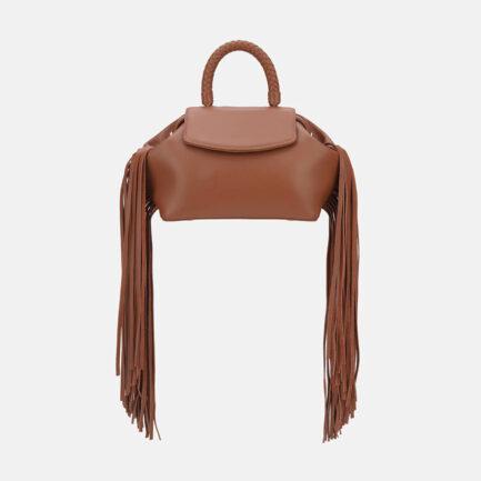 GRIE bags. Designer doctor bags. Mimi Caramel Fringe
