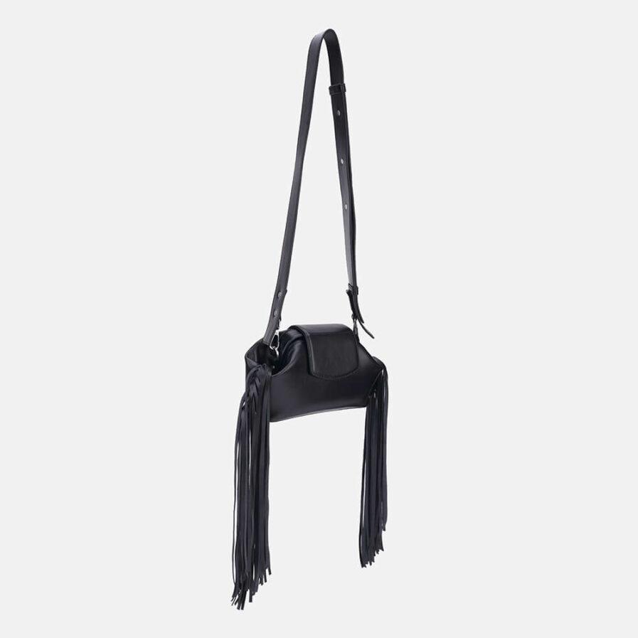 GRIE bags. Designer doctor bags. Baby Chic Black Fringe